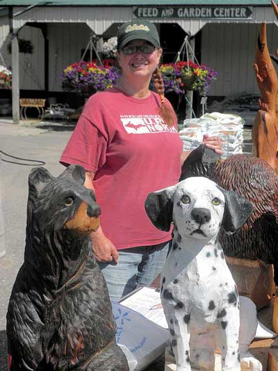 Art all over in land o lakes the northwoods river news